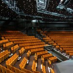 Bespoke seating refurbishment done by Evertaut at The Crucible theatre