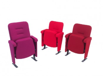 Evertaut Orion red theatre seats