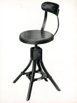 Evertaut Vintage Industrial Chair