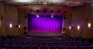 View of auditorium seating and stage at The Core Theatre in Solihull