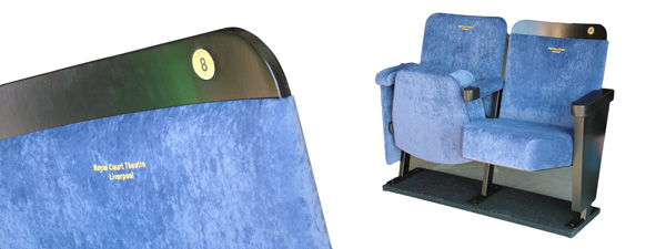 Personalised Theatre seating