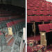 Seating shown before and after refurbishment by Evertaut at Former Granada Cinema in Clapham