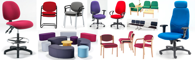 Range of office and other contract seating from Evertaut