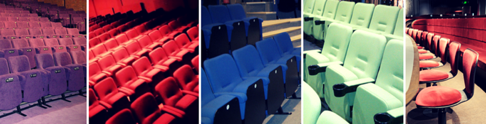 Evertaut's range of theatre and cinema seating in various styles and colours