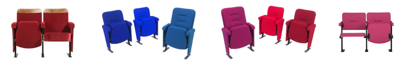 Evertaut's range of theatre chairs