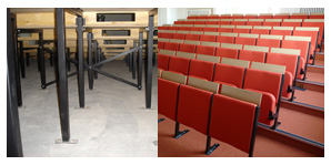 Bespoke Tiering & Seating