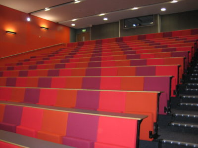 Evertaut's Diploma Lecture Theatre Seating Featured in University Business Magazine