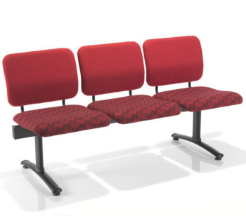 Evertaut Dandi Beam waiting room seating with 3 seat positions