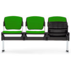 Evertaut Sentinel Beam waiting room seating with 3 seats