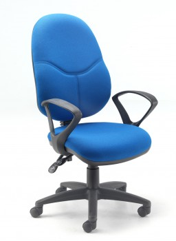 Evertaut 5087A blue office chair