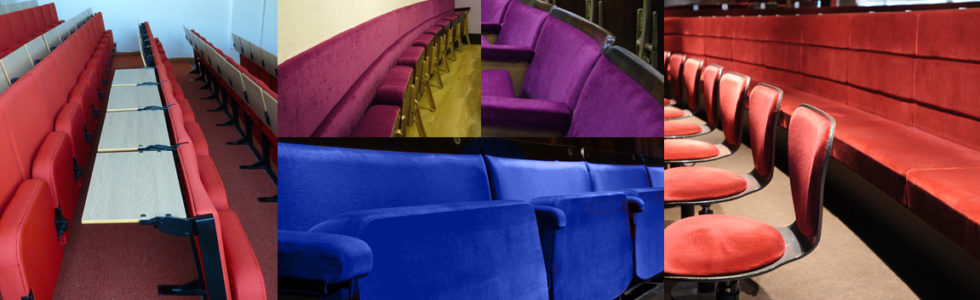 Range of bespoke seating manufactured by Evertaut Ltd