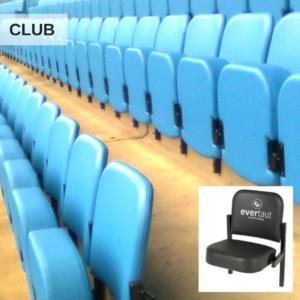 Evertaut Club stadium seats in a football stadium
