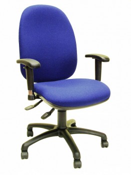 Office chair with extra wide seat and back