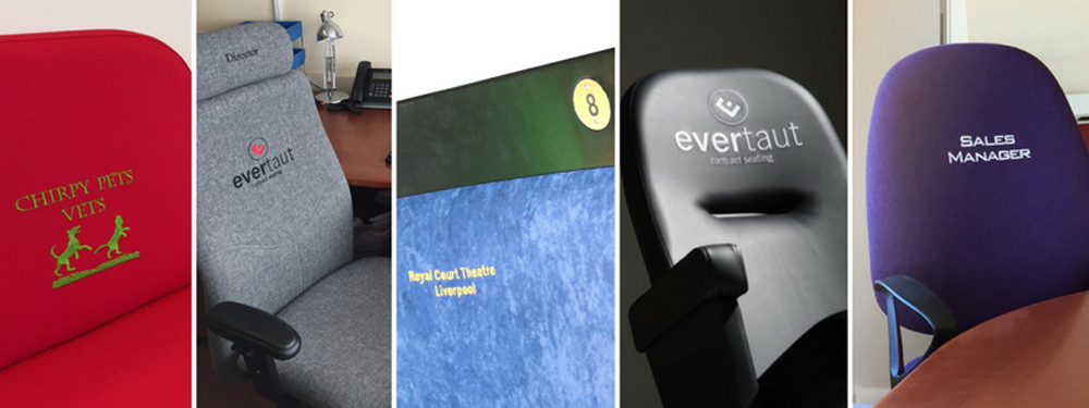 Range of branded seating manufactured by Evertaut