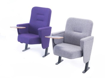 Evertaut's range of Aspire Conference seating with fold away writing tablets