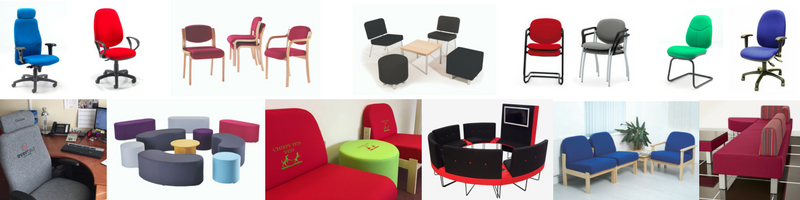 Wide selection of loose chairs and seating
