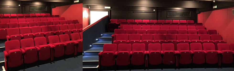 Evertaut's Orion theatre seating at Formby Little Theatre