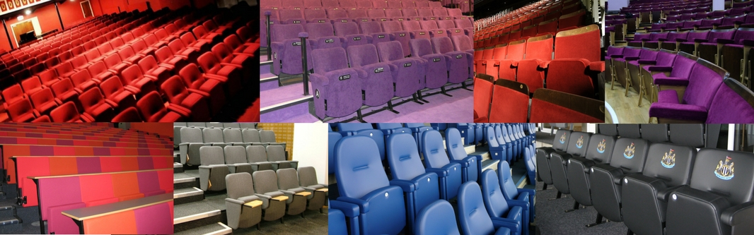 Range of Evertaut auditorium seating