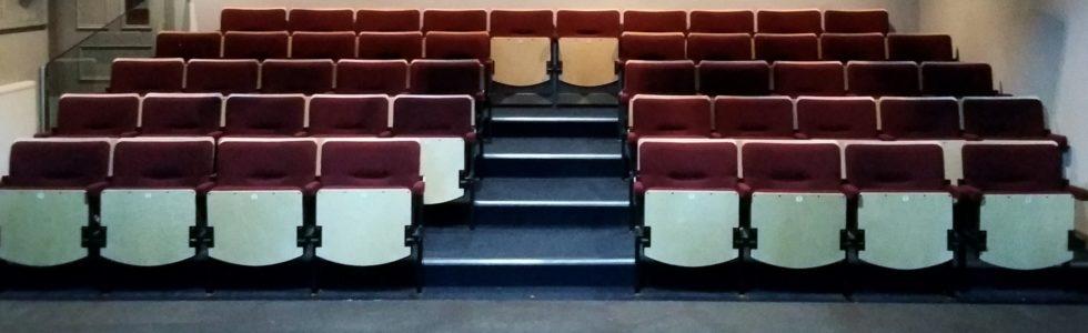 Evertaut Solar Theatre Seating in auditorium at The Dibble Tree