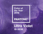 Banner showing Pantone Colour of the Year 2018 Ultra Violet