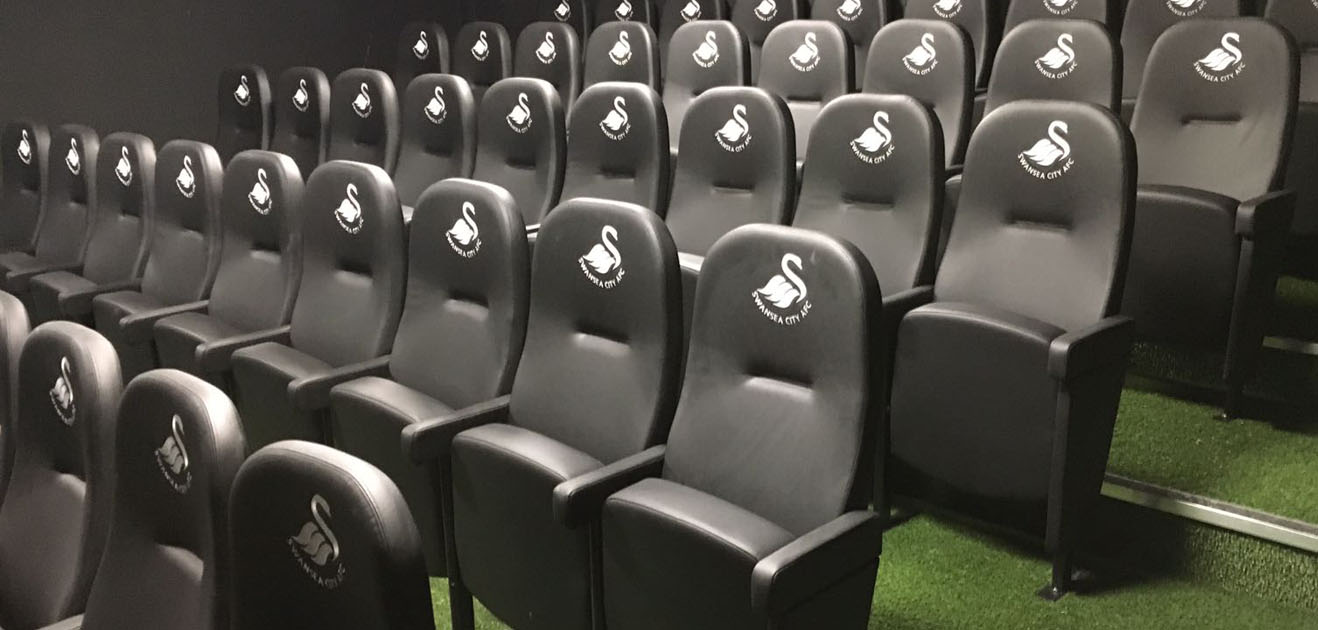 Evertaut Olympian seats at Swansea City FC training facility