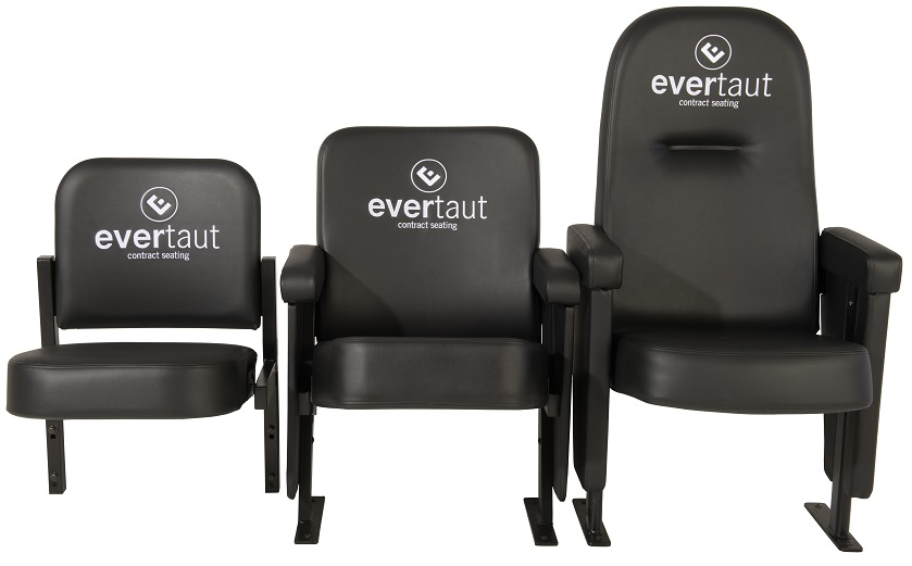 Evertaut's range of luxury stadium seating