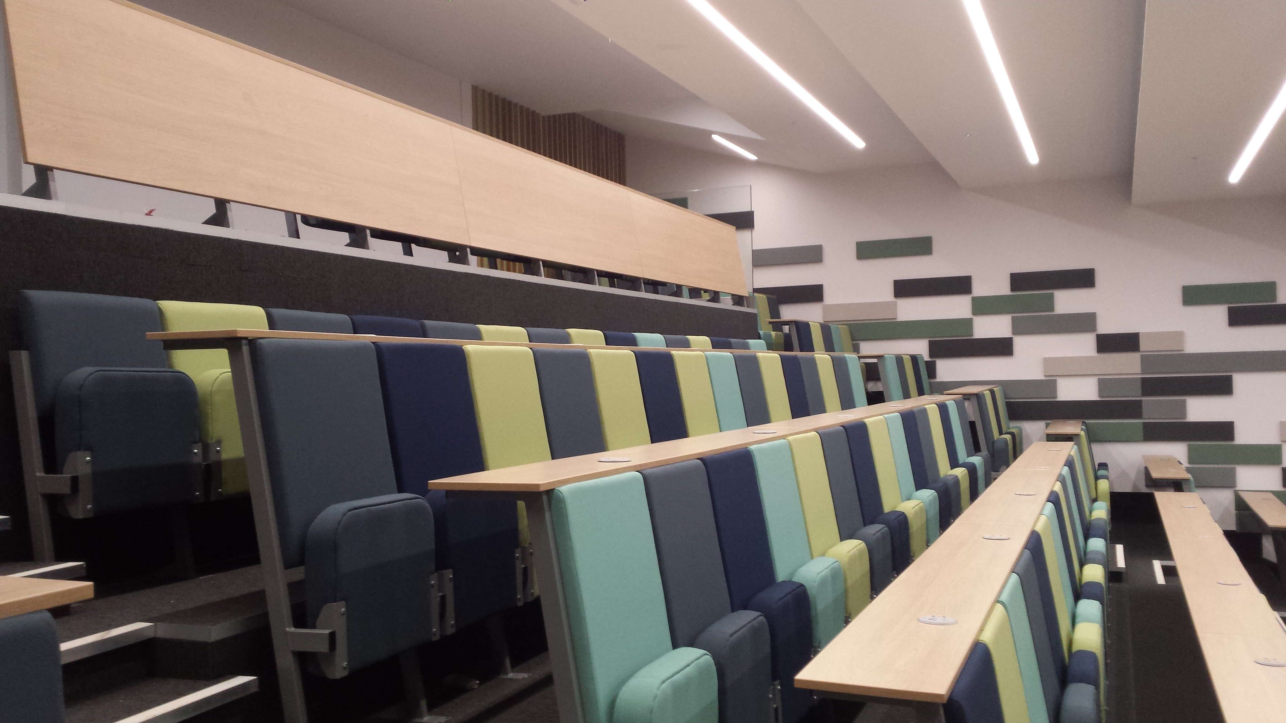 Lecture theatre at Warwick university