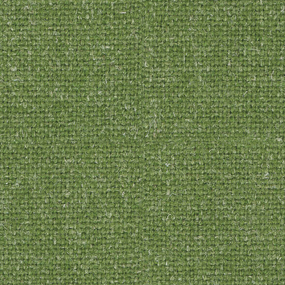 Swatch of Camira Hemp fabric in green Acre colour