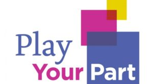 Belgrade Theatre Play Your Part Fundraising campaign logo