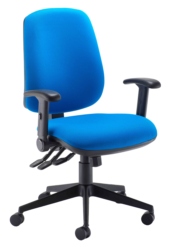 6001 Heavy Duty High Back Operator Chair