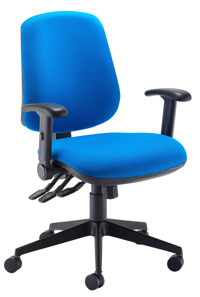 6002 Heavy Duty Mid Back Operator Chair