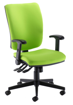 GSH High back operator chair with multi function arms