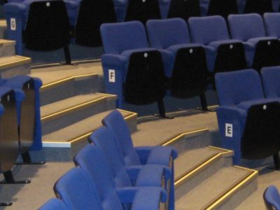 Choosing a Fabric Colour for Fixed Seating in an Entertainment Venue