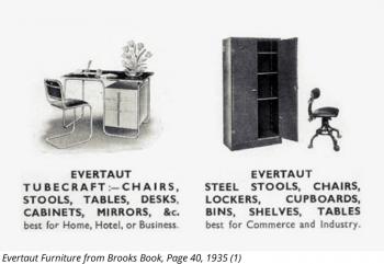 Evertaut vintage catalogue page