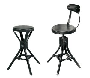 Evertaut vintage factory chair and stool