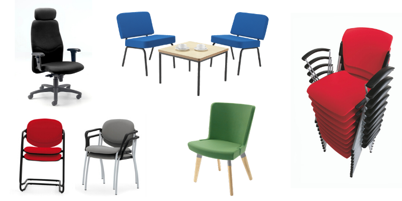 Range of seating suitable for study rooms in religious buildings