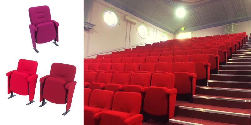 Orion auditorium seating in Church of Pentecost Dagenham