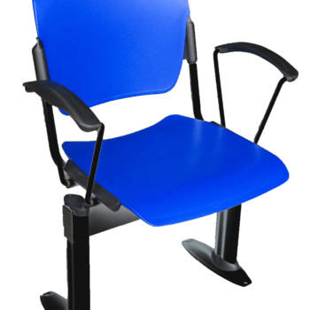 Social distancing chair with arms